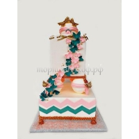 Торт свадебный на заказ - № 157