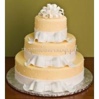 Торт свадебный на заказ - № 167