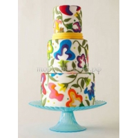 Торт свадебный на заказ - № 169