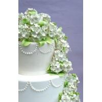 Торт свадебный на заказ - № 036