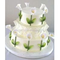 Торт свадебный на заказ - № 191