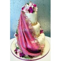 Торт свадебный на заказ - № 196