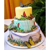 Торт свадебный на заказ - № 205