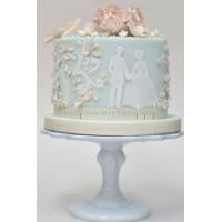 Торт свадебный на заказ - № 206