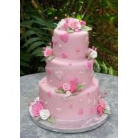 Торт свадебный на заказ - № 208