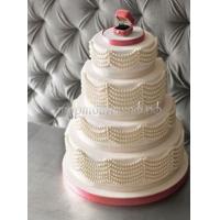 Торт свадебный на заказ - № 212