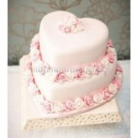 Торт свадебный на заказ - № 215