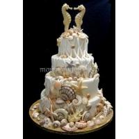 Торт свадебный на заказ - № 217
