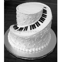 Торт свадебный на заказ - № 221