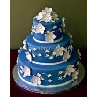 Торт свадебный на заказ - № 042