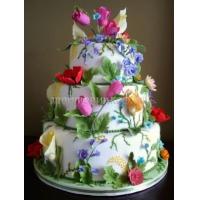 Торт свадебный на заказ - № 019