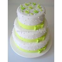 Торт свадебный на заказ - № 001