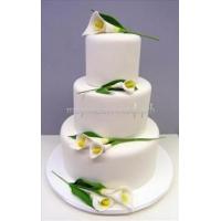 Торт свадебный на заказ - № 002