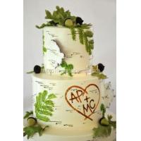 Торт свадебный на заказ - № 061
