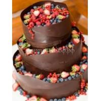 Торт свадебный на заказ - № 066