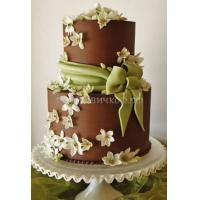 Торт свадебный на заказ - № 068