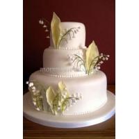 Торт свадебный на заказ - № 072