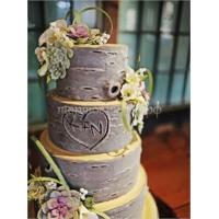 Торт свадебный на заказ - № 078