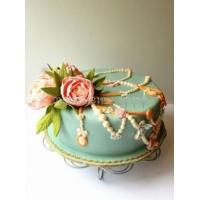 Торт свадебный на заказ - № 079
