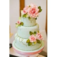 Торт свадебный на заказ - № 081