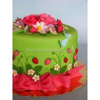 Торт свадебный на заказ - № 095