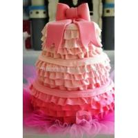 Торт свадебный на заказ - № 022