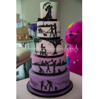 Свадебный торт #71