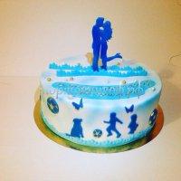 Свадебный торт #76