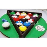 Заказать торт на день рождения - Бильярд