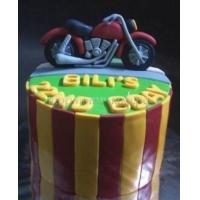 Заказать торт на день рождения - Байкер