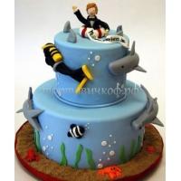 Заказать торт на день рождения - Рыбак
