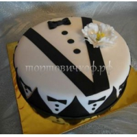 Заказать торт на день рождения - Джентлемен