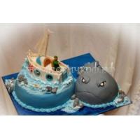 Торт на день рождения мужу - Рыбак