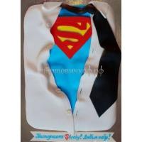 Заказать торт на день рождения - Супер ман