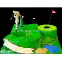 Заказать торт на день рождения - Гольф