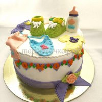 Детский торт #326