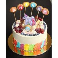Детский торт #336