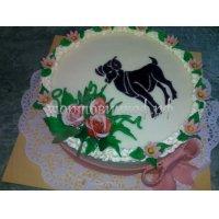 Прикольные торты на день рождения # 33