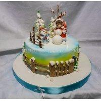 Торт на новый год #84