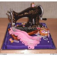Торт на заказ - Швейная машина