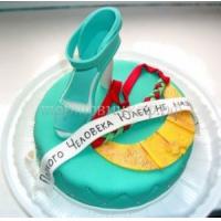 Детский торт с днем рождения