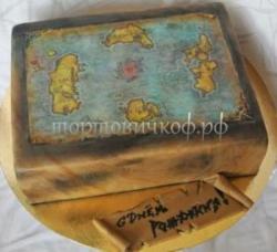 Заказать торт на день рождения - Варкрафт