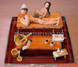 Торт на заказ - Массаж